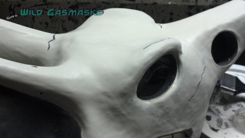 Skull Jackal Prelim - Detail 1