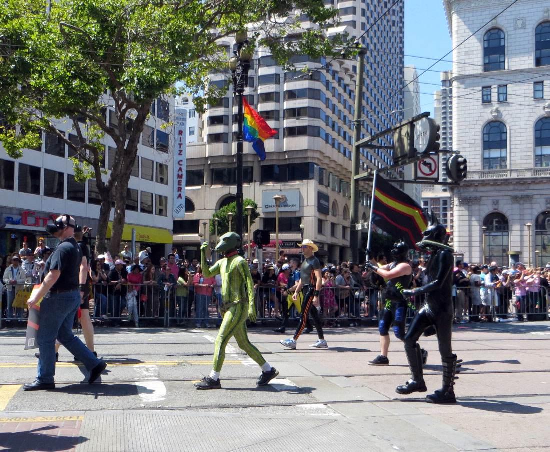 San Francisco LGBT Pride Parade March