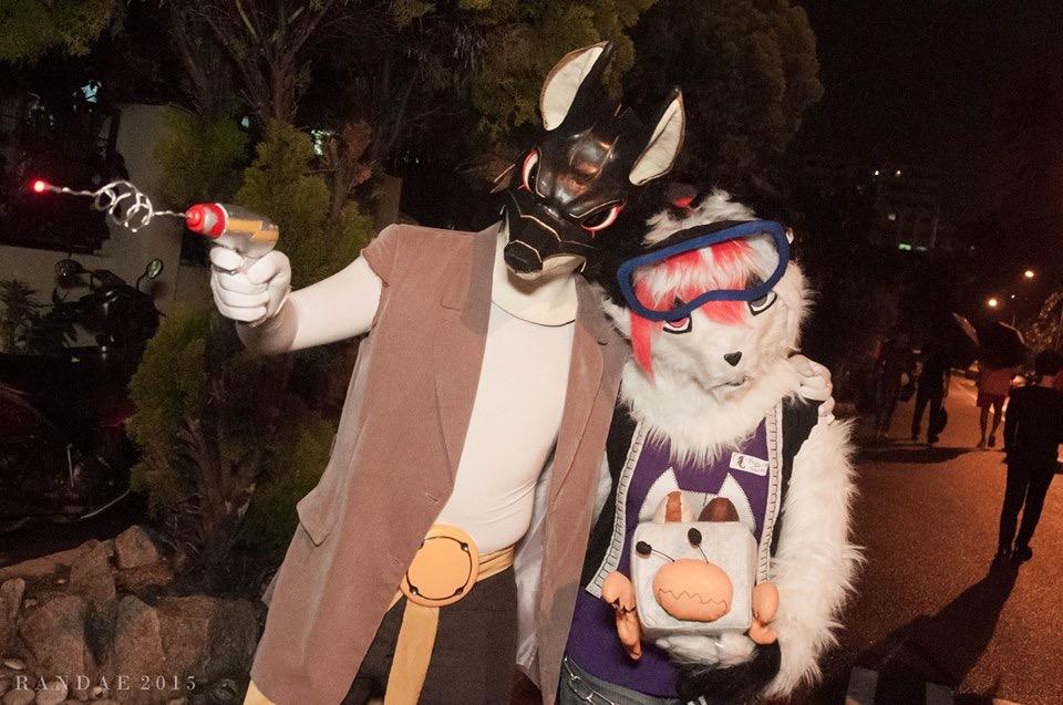 Moonlight and Foxywolf Cosplay the Chu