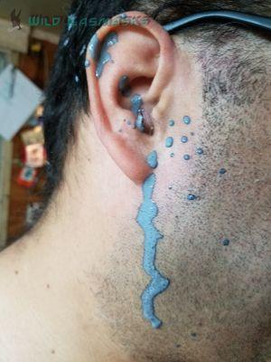Bleeding Latex From The Ear