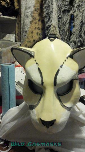 Kauko's Mask in Progress