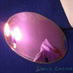 Wildgasmasks mirrored lens in wine