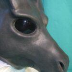 Wildgasmasks DG 2 fantasy dragon gasmask muzzle detail