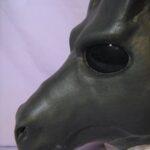 Wildgasmasks DG 1 fantasy dragon gasmask muzzle detail