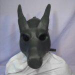Wildgasmasks DG 1 fantasy dragon gasmask front view